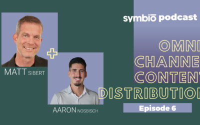 Symbio Cannabis Consulting Podcast: Episode 6 – Omni-Channel Content Distribution